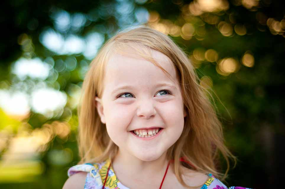 Smiling kid portrait