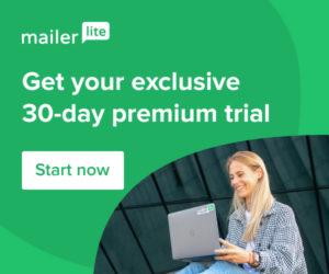 Mailerlite email marketing trial